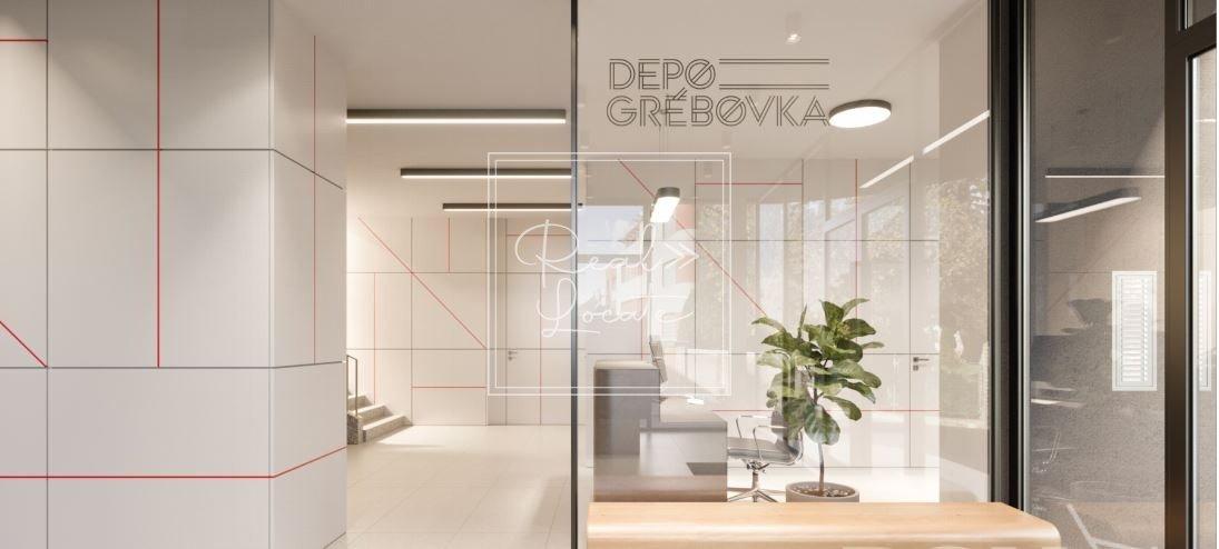 Depo Grebovka 3kk residence entrance