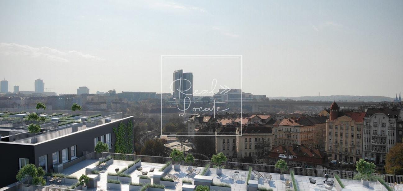 Depo Grebovka 3kk view on terrace