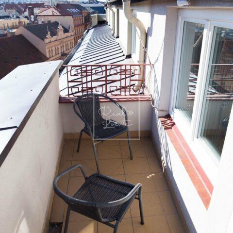 nabízí, pronájem, byty 3+kk Pštrossova 187/2, Praha – Nové Město